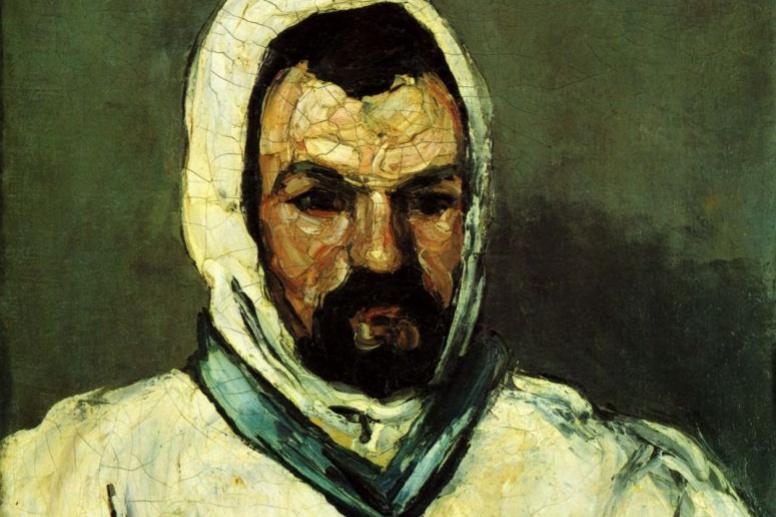 Paul Cezanne. Portrait of uncle Dominic in monk garb