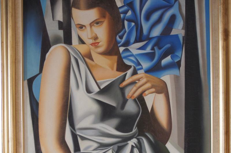 Unknown artist. Portrait de Madame M.