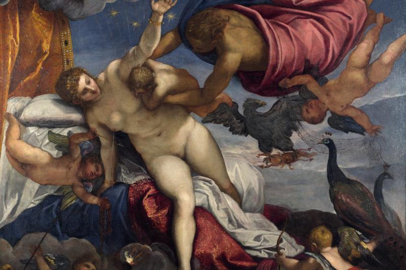 Jacopo (Robusti) Tintoretto. Origin of the Milky Way