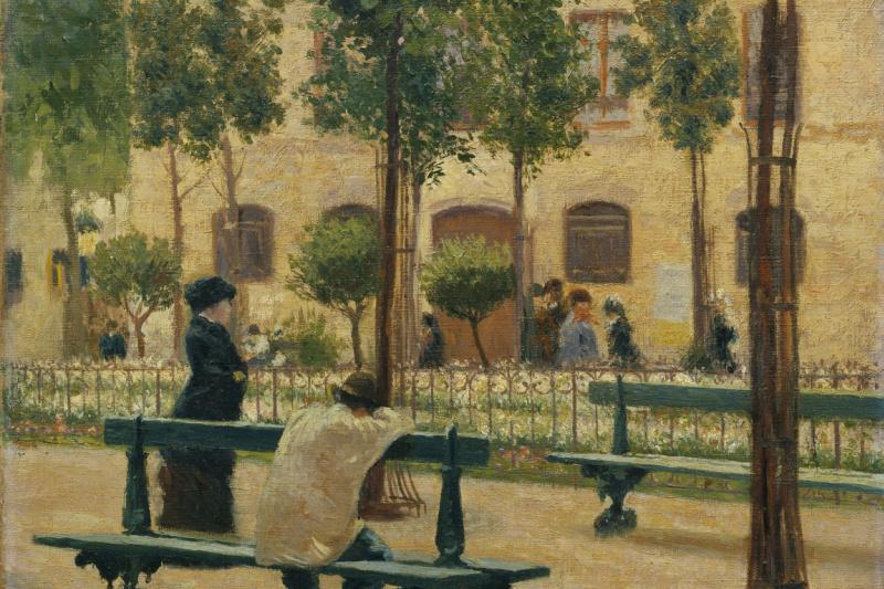 Federico Zandomenegi. Place Du Tertre
