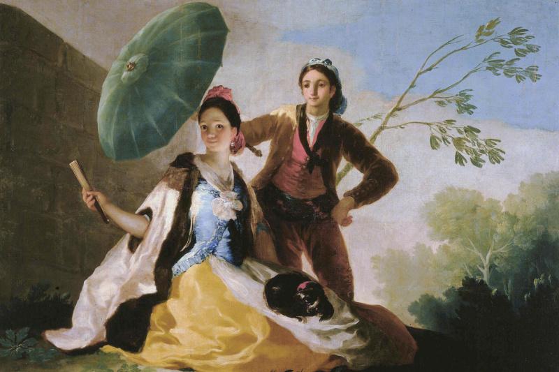 Франсиско Гойя. Зонтик