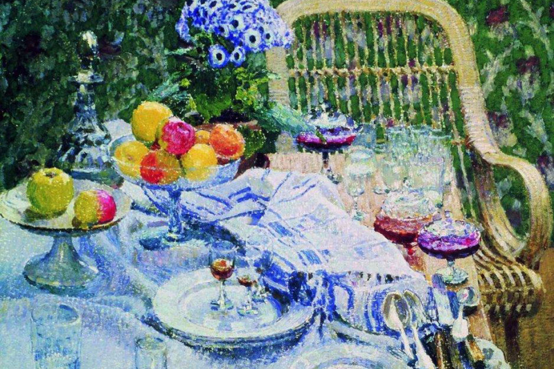 Igor Grabar. Uncleared table