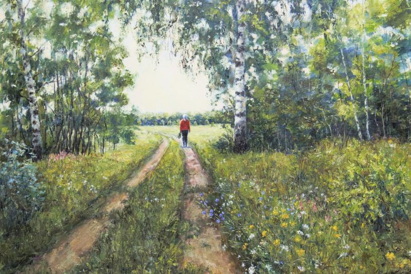 Tatyana Chepkasova. Care in the summer
