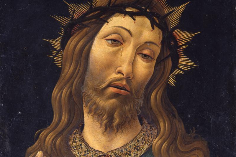 Сандро Боттичелли. Христос в терновом венце