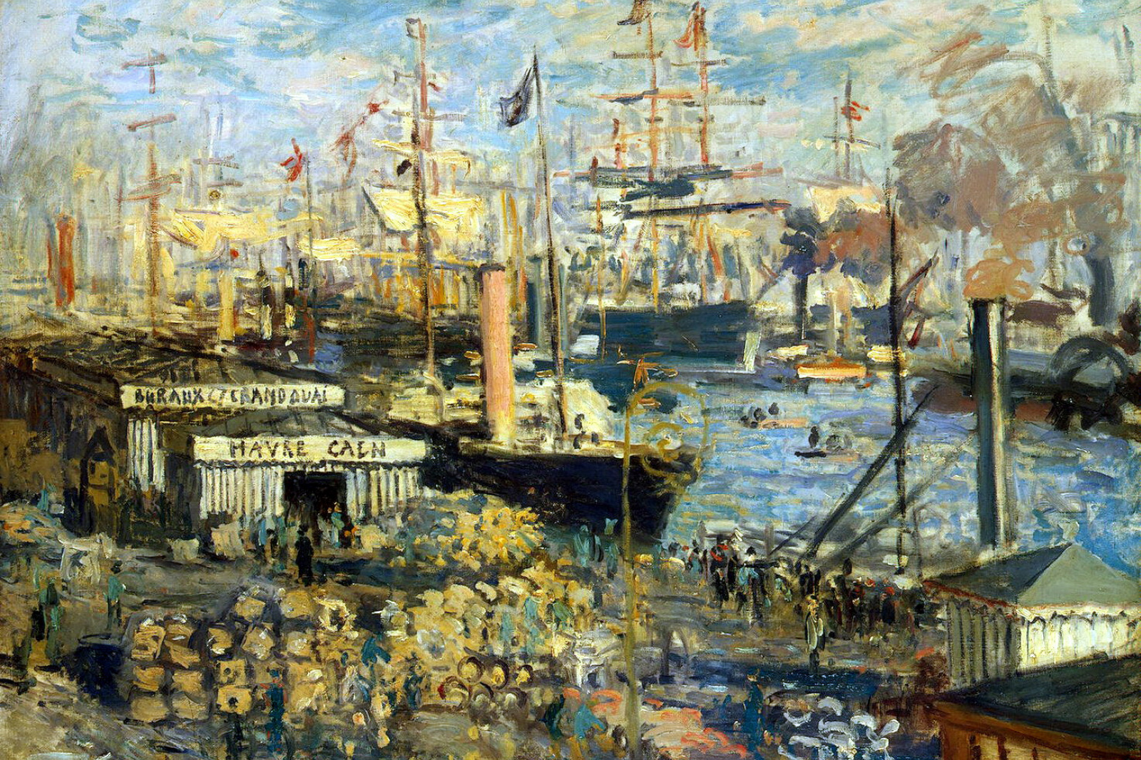 A large promenade at Le Havre by Claude Monet: History, Analysis & Facts