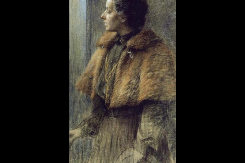 Louise Breslau. Self-portrait