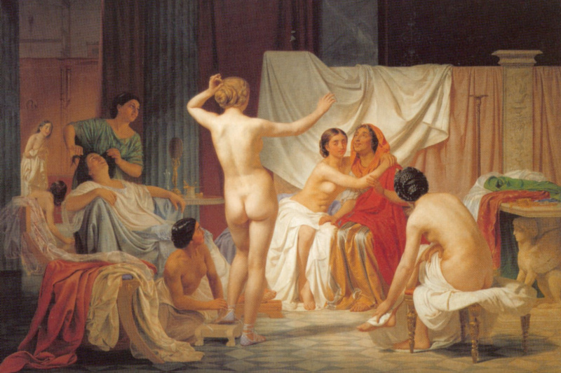 Fedor Andreevich Bronnikov. Roman baths