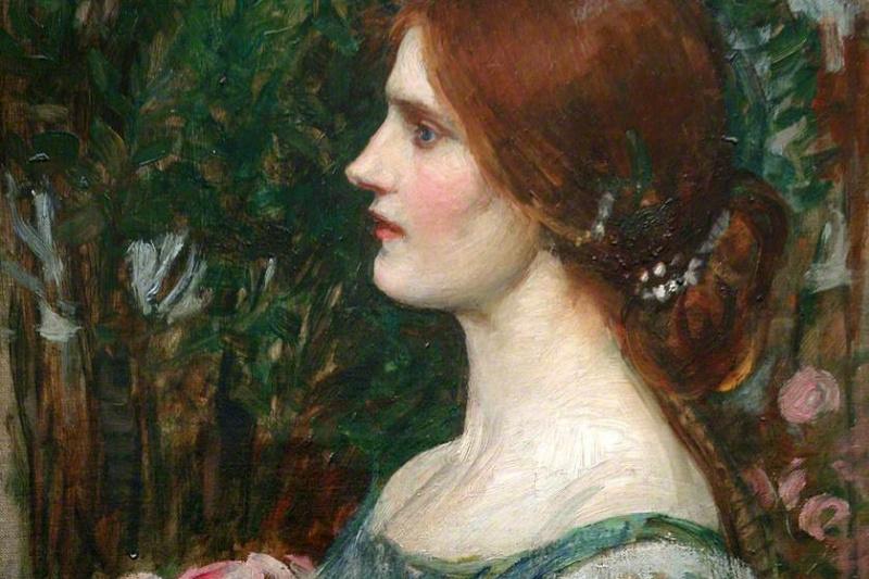 John William Waterhouse. Bouquet