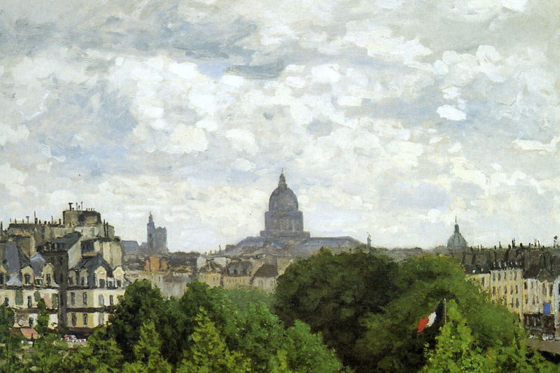 Claude Monet. Garden of the Princess, Musee du Louvre