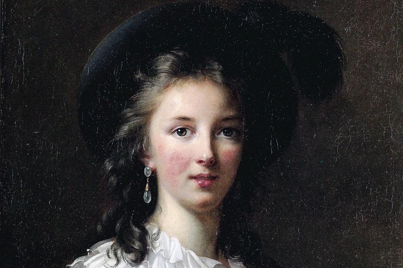 Elizabeth Vigee Le Brun. Self-portrait