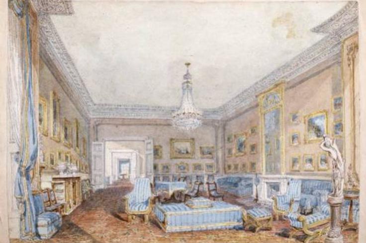 Joseph Mallord William Turner. Living in Grosvenor place, 45