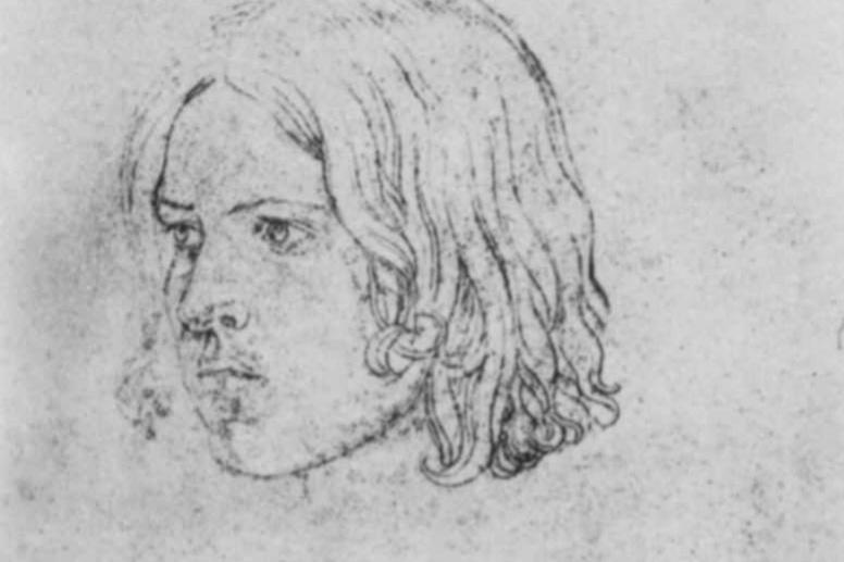 Peter von Cornelius. Portrait Of Charles Philippe Faure