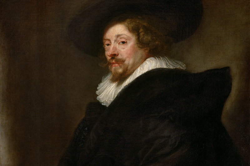 Peter Paul Rubens. Self-portrait