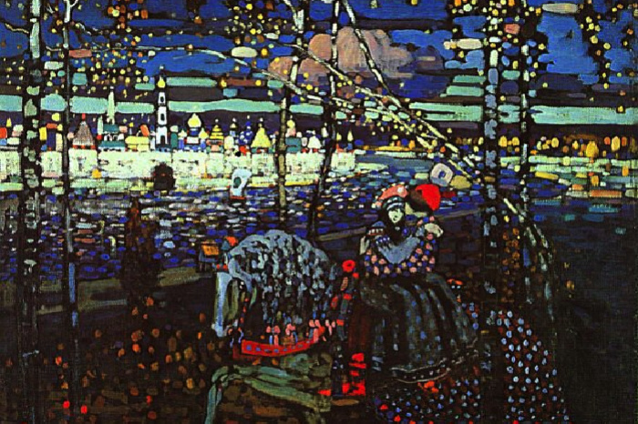 Wassily Kandinsky. Two on a horse