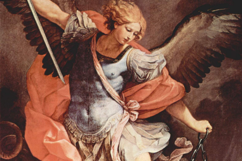 Guido Reni. The Archangel Michael