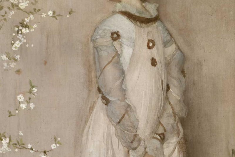 James Abbot McNeill Whistler. Symphony of bodily and pink. Portrait Of Francis Layland