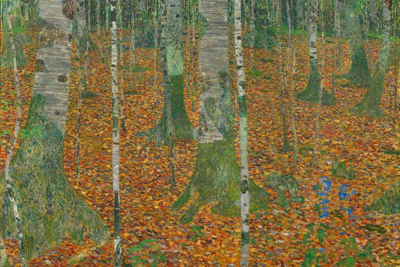Gustav Klimt. Birch forest