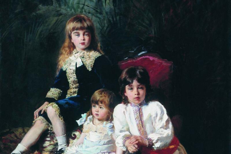 Konstantin Makovsky. The children of Mr. Balashov