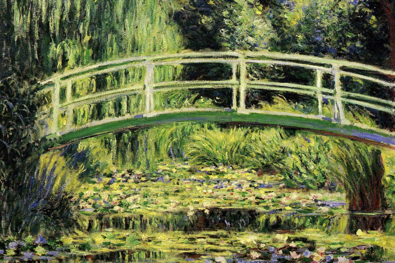 Claude Monet. White Water Lilies