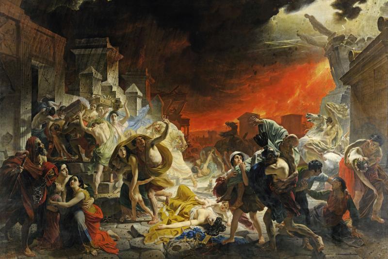 Karl Pavlovich Bryullov. The last day of Pompeii