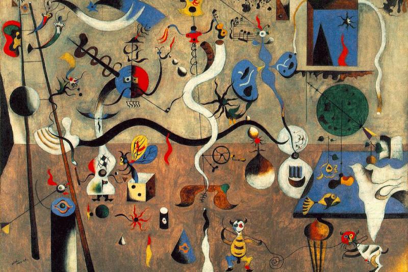 Joan Miro. Carnival Of Harlequin