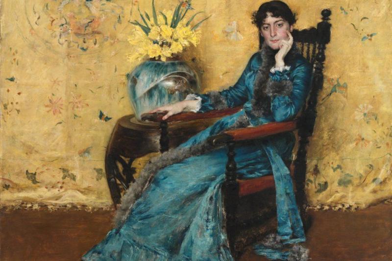 William Merritt Chase. Portrait of miss Dora Wheeler