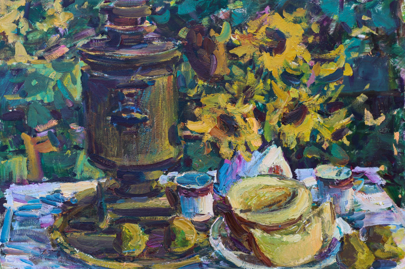 Igor Eduardovich Vasilevsky. Sunflowers