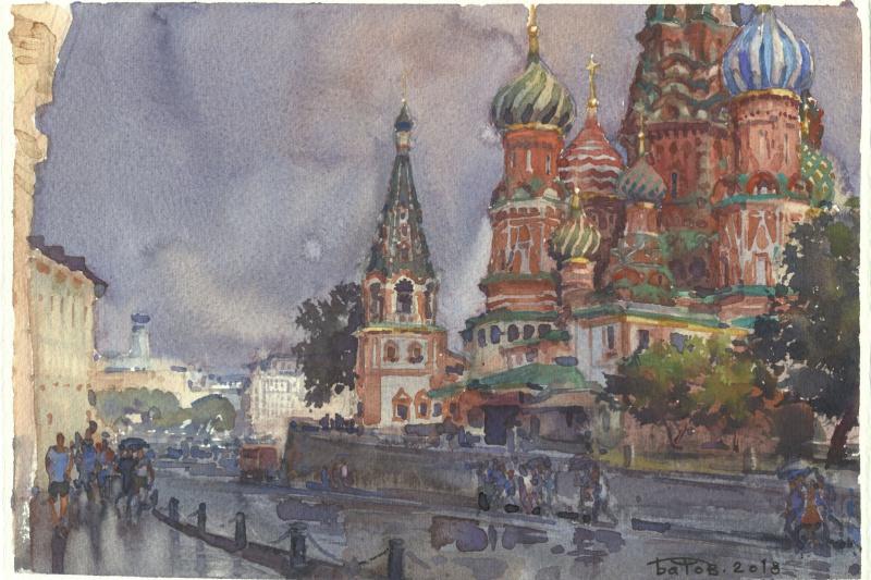 Anton Batov. Дождь прошёл