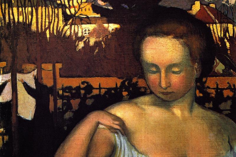 Морис Дени. Портрет Марты Дени, жены художника