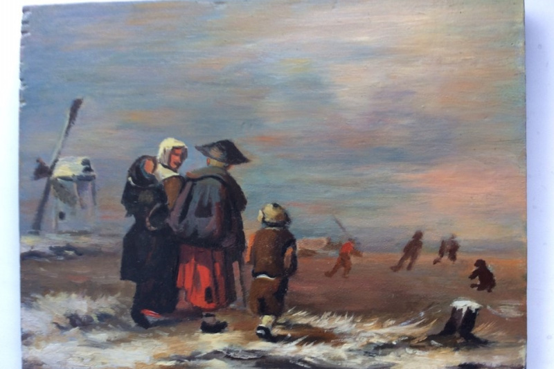 Frolov. Family by the sea