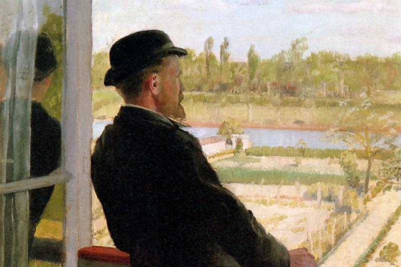 Кристиан Крог. Портрет Карла Нордстрема
