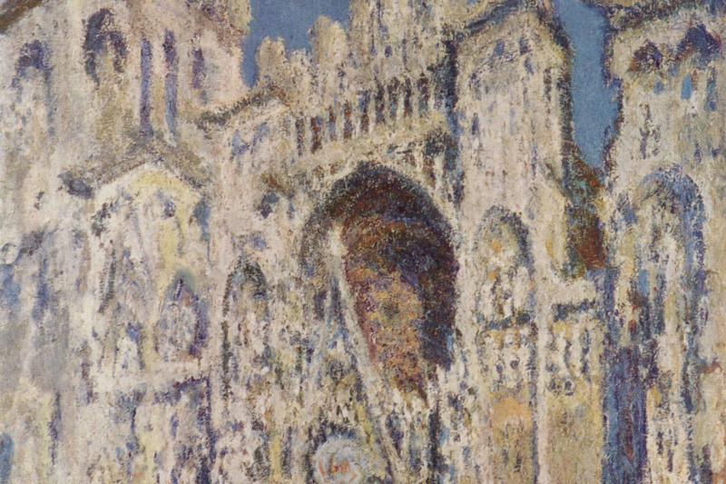 Клод Моне. Руанский собор, главный вход и Тур д'Альбан на солнце