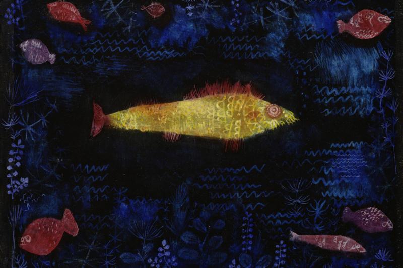 Paul Klee. Goldfish