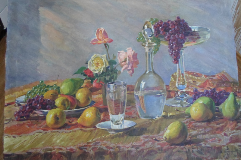 Ivan Fyodorovich Gutorov. Still life