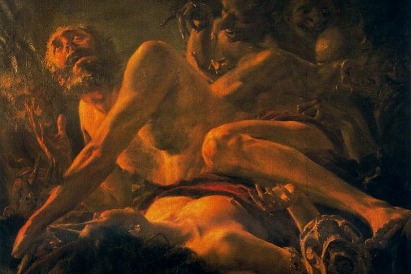Бальдомеро Ромеро Рессенди. Искушение святого Иеронима