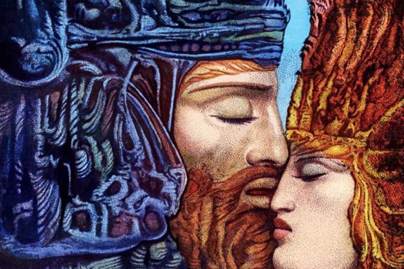 Ernst Fuchs. David and Bathsheba