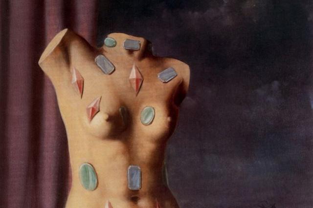 René Magritte. A drop of water