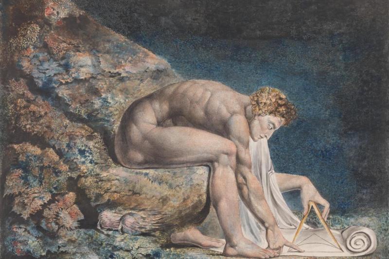 William Blake. Newton