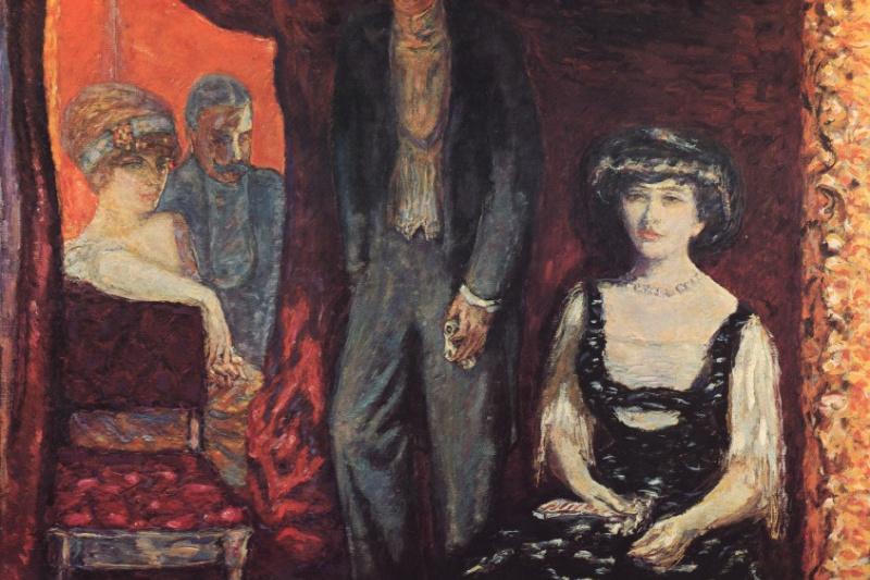 Pierre Bonnard. Bed