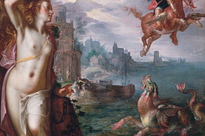 Иоахим Юттеваль. Персей спасает Андромеду