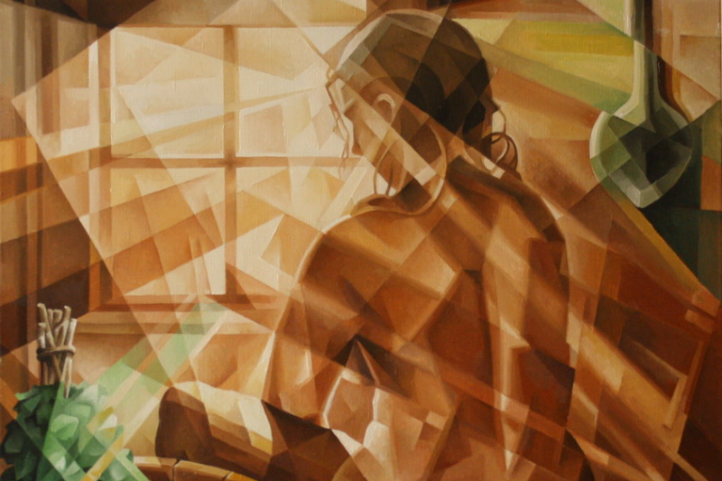 Vasily Vyacheslavovich Krotkov. Ondine. Kubofuturizm. 2016