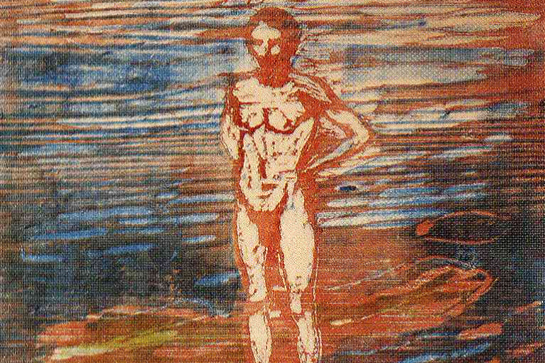 Edvard Munch. Bather