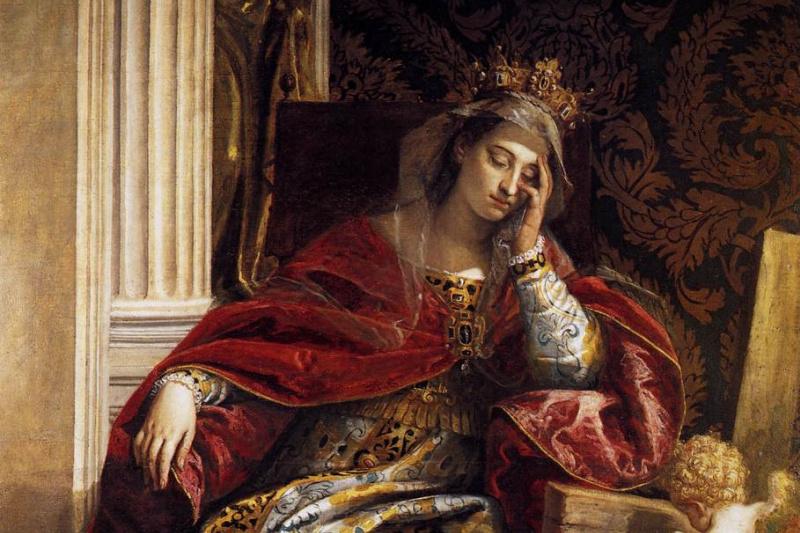 Paolo Veronese. Vision of Saint Helena