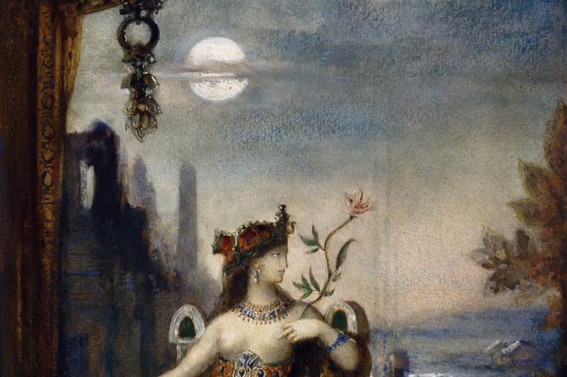 Gustave Moreau. Cleopatra