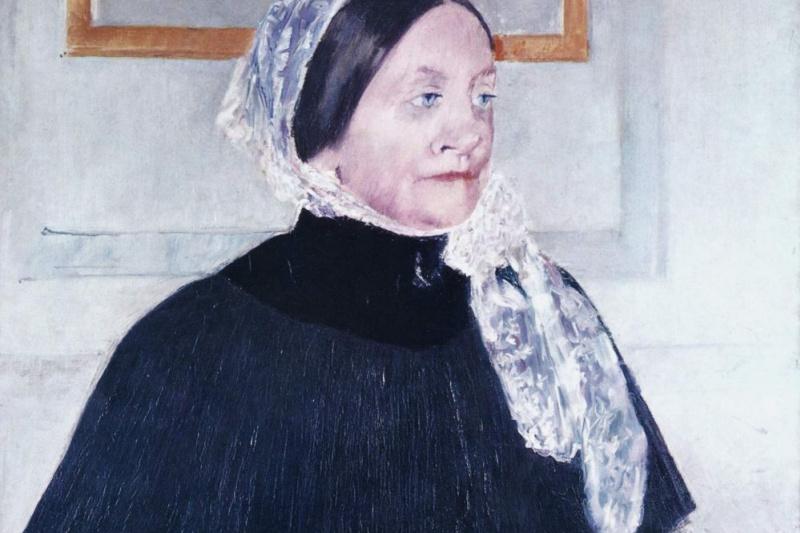 Mary Cassatt. Lady at the tea table