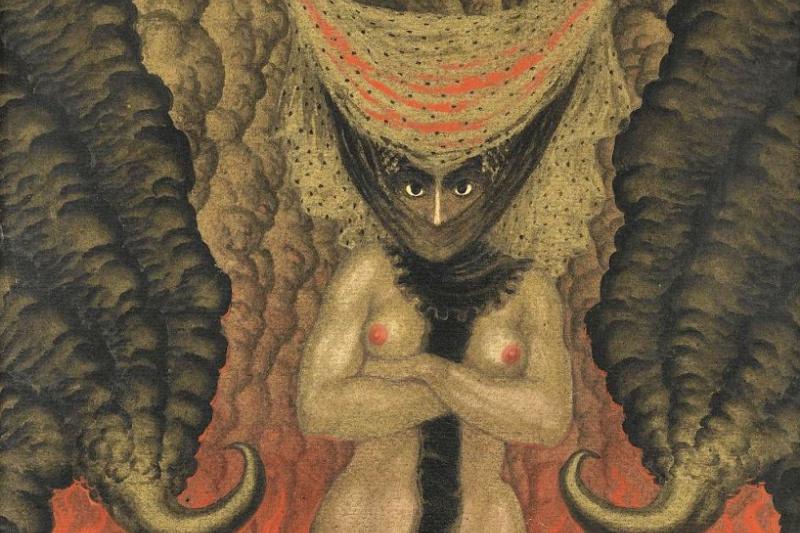 Николай Константинович Калмаков. Жена сатаны. 1919