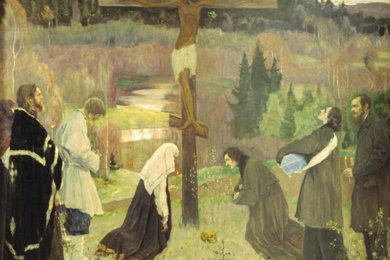 Mikhail Vasilyevich Nesterov. Holy Week