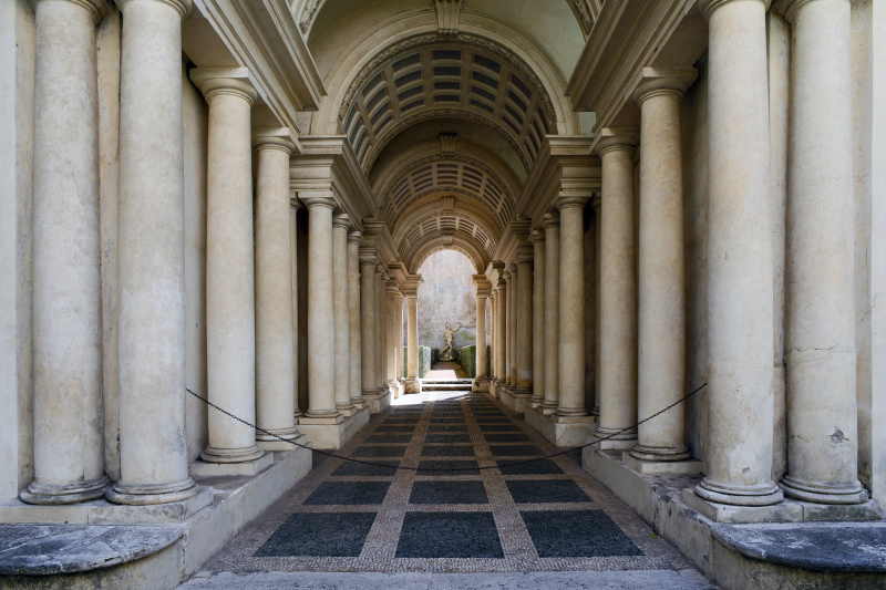 Francesco Borromini. Galleria prospettica