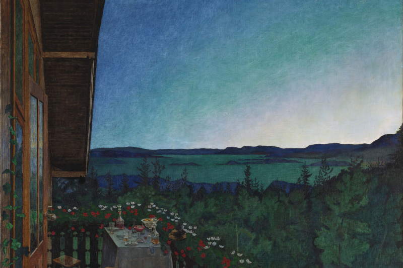 Harald Oscar Solberg. Summer Night