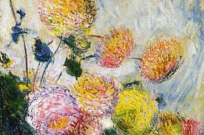 Claude Monet. Dahlias